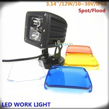 LED Off-road Light,12W LED Work Light,10-30v Driving On Truck,Jeep, Atv,4WD,Boat,Mining LED driving light
