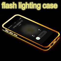 flash light case for iphone 6 rock case, for original rock iphone 6 led case