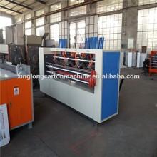Thin blade slitter scorer machine/corrugated paperboard making machine