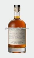 750ml Bourbon whiskey bottles