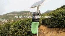 light + time + rain control 15W Lamp 40w Panel Solar Insect ultraviolet Killer Light