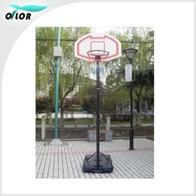 1.65-2.05m adjustable and movable indoor basketball stands