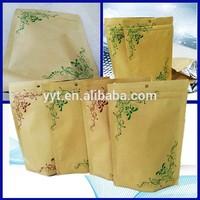 foil lined kraft paper bag for food