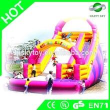 HOT!! PVC/TPU inflatable slide,cartoons inflatable slide,slides inflatable popular