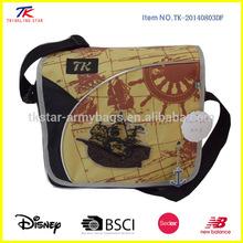Fashionable School classical messenger bag for boy