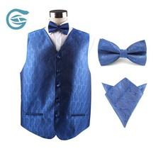 Men's Design V-neck Work Reflection Vest With Pockets