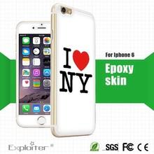 for iphone 6 plus sticker transparent,for apple i6 oem sticker