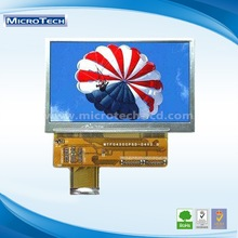 """4.3"""" Color (mtf0430wt--05) 4.3 inch tft lcd module for Electrical medical devices"""