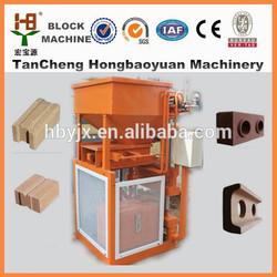 SY1-10 automatic hydraulic cement/clay soil interlock block machine in Uganda