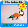 Chinese factory OEM 850nm IR Pass Optical Filter for infrared camera head