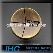 Custom design easy shirt button