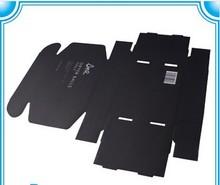 custom matt black paper packaging corrugated box for mailing