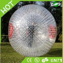 2014 Brand New Cheap giant zorb ball for kids,human sized ball,aqua zorb