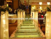 1.22*1.22M Glass stage/wedding stage/Transparent stage YS-1110-2