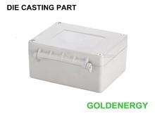 High quality custom die casting aluminum tool box powder coated