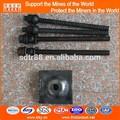 La mina de apoyo en tierra de barras de acero 22mm, hilo de rock bolt