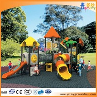 children pure steel frame playground simple climbing playset in china