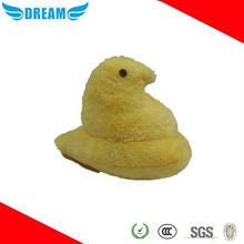 2015 Soft stuffed plush yellow chicken toys