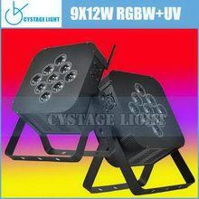 Good quality new products 9pcs Led Flat Par Light