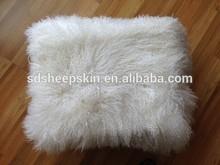 Fashion Long Hair Tibet Animal Skin Cushion Moose Cushion