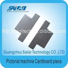pictorial inkjet cardboard piece for inkjet printer