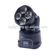 LZP-0410 4PCS*10W RGBW 4 IN 1 LED MOVING HEAD BEAM LIGHT