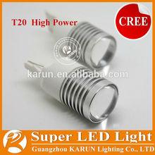 Super bright T20 w21/5w 7443 led Brake Light KR-4G-T20DW-CR-5W(7443)