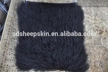 Sheepskin Pillow Tibet Wool tube shape microbead plush pillow