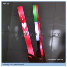 economic led flashing stick plastic flashing stick flash optical fiber rod