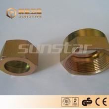 precise custom brass fast connector,threaded fitting,brass nipple fittings,tube fitting nipple