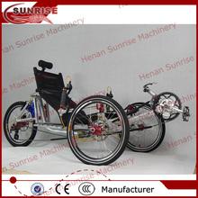 China three wheel bike, three wheel recumbent bike