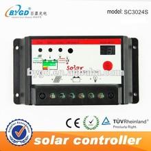 High performance 30A 12v/24v auto switch solar controller EU standard quality