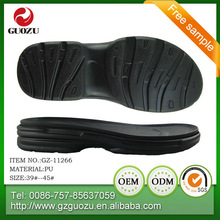 thick pu shoes soles for men