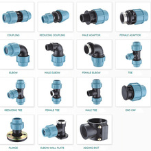 pp compression fittings/pp fittings/PP Straight Coupler