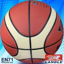 2013 new style wholesale rubber PVC PU TPU leather adults leather basketball