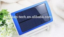 Cheap, light, stylish, Solar Mobile Power Bank USB 7000mAh Solar Battery Panel Charger Solar Power Bank KM-solar012