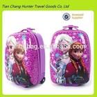 disny frozen luggage trolley bag for girls children trolley luggage