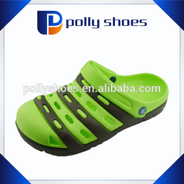 Summer colorful hole strap eva flat sandal garden shoes for men
