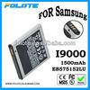 3.7V 1800mAh EB575152LU Battery For Samsung Galaxy S i9000 EB575152LU
