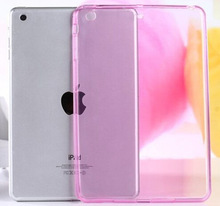 Slim Anti-Dust TPU Jelly Soft Back Cover Shell Case For Apple iPad Air 2 / iPad air / iPad mini 2