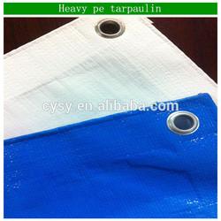 Hot sale!!! cheapest price 75g black white fire retardant pe tarpaulin in roll