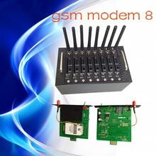 Best price multi sim gsm modem , high speed 8 sim slots bulk sms sending equipement