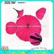 Cheap best selling windproof beach umbrella coated uv