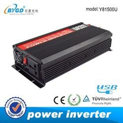DC-AC 12v 220v solar energy 1500w power inverter