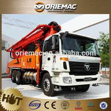 Foton fuel type diesel hydraulic concrete pump truck