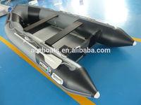0.9mm pvc Black deepen grey rigid inflatable boat