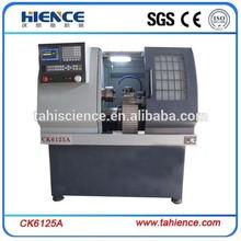 CK6125A CNC Lathe machine/mini metal lathe/cnc metal spinning machine