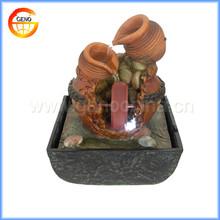 Terracott tin garden fountain for sale