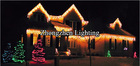 commercial christmas christmas waterfall led icicle light
