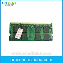 800mhz notebook ram memory ddr2 1gb sodimm Non ECC Memory